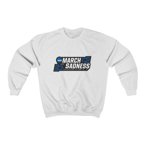 March Sadness Shirt - Long Sleeve Crewneck Sweatshirt for $35.00 at Miss Deplorable