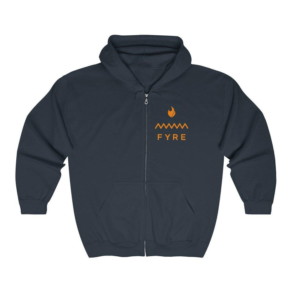 Fyre Festival Hooide - Fyre Merch - Fyre Festival Full Zip Hooded Sweatshirt - Miss Deplorable