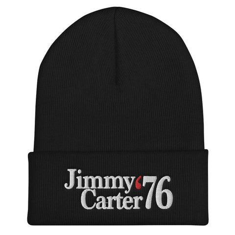 Jimmy Carter Hat - Jimmy Carter For President 76 Beanie