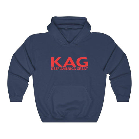 KAG 2020 Hoodie - Keep America Great Hooded Sweatshirt - Womens Maga Shirt - Mens trump 2020 Hoodies - Miss Deplorable