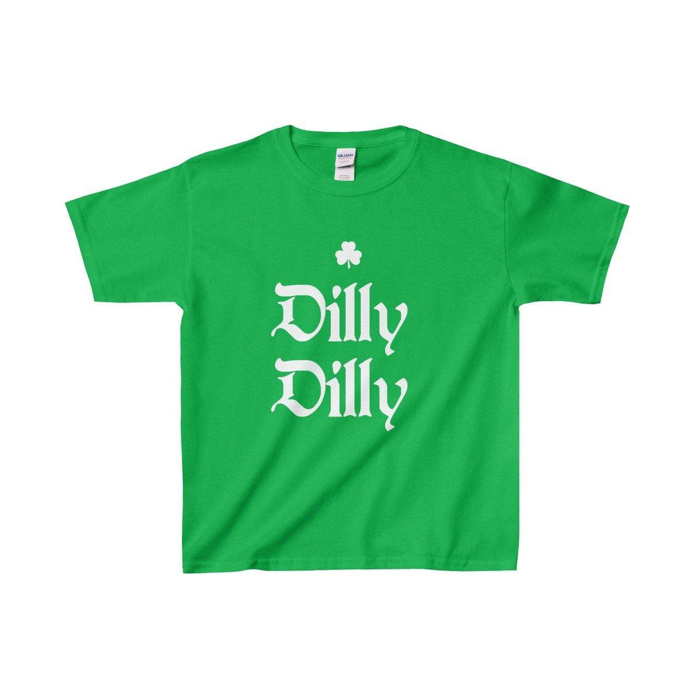 Funny St Patricks Day Dilly Dilly Youth T Shirt - Miss Deplorable