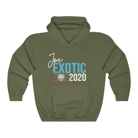 Joe Exotic For President Hoodie Hooded Sweatshirt - Miss Deplorable