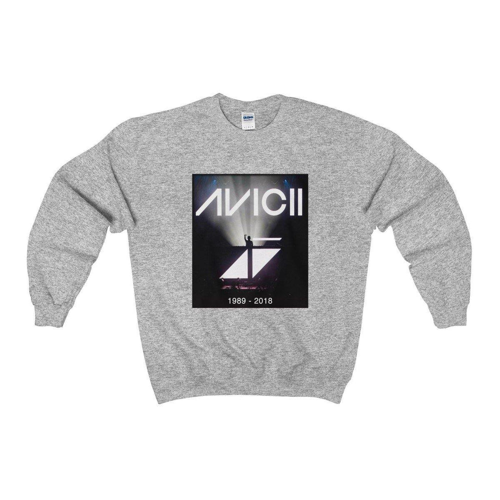 Avicii Sweater - Avicii Shirts - Avicii Crewneck Sweatshirt - RIP Avicii - Miss Deplorable
