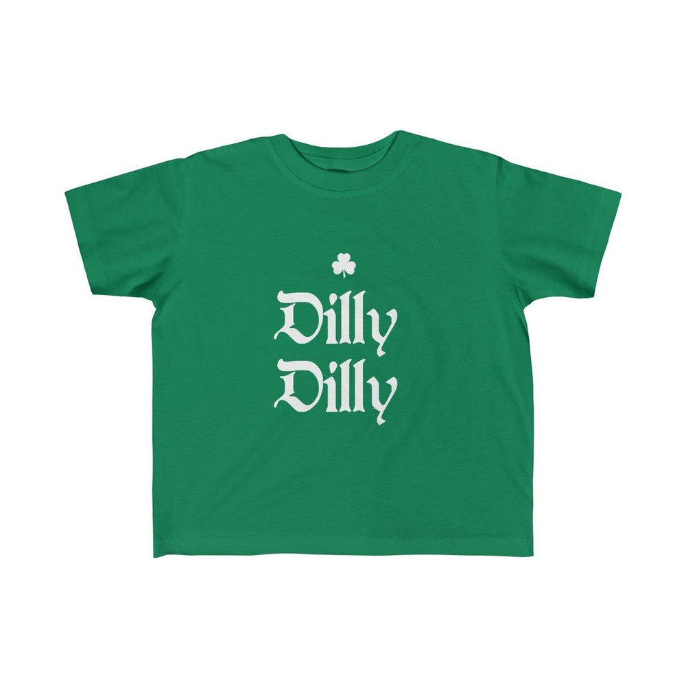 Dilly Dilly St.Patricks Day Kid's Fine Jersey Tee - Miss Deplorable