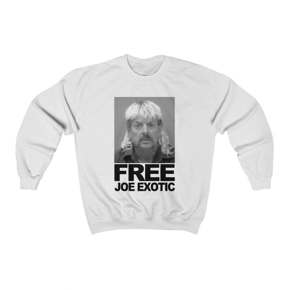 Free Joe Exotic Shirt Mug Short Crewneck Sweatshirt - Miss Deplorable