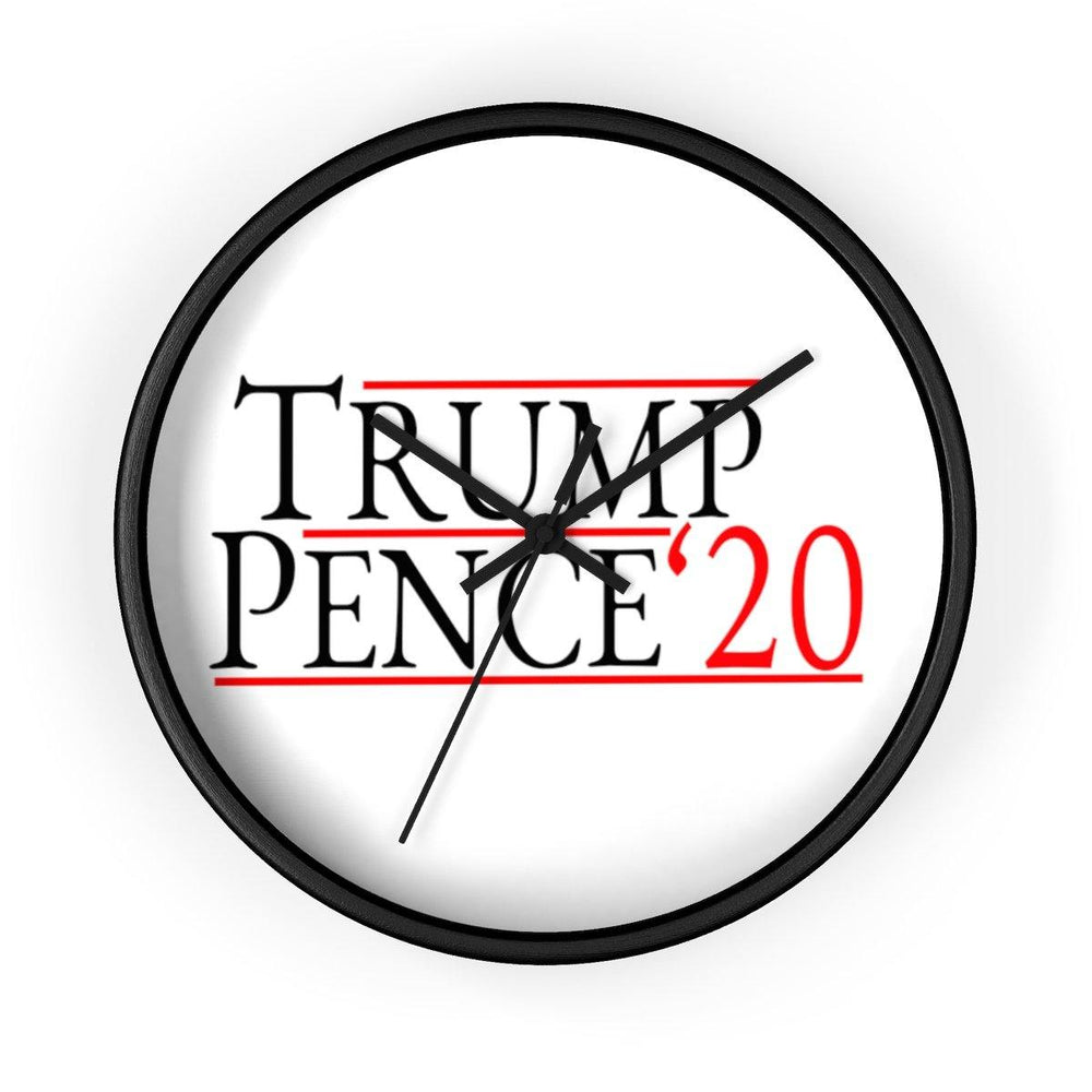 Donald Trump Mike Pence 2020 Wall clock - Miss Deplorable