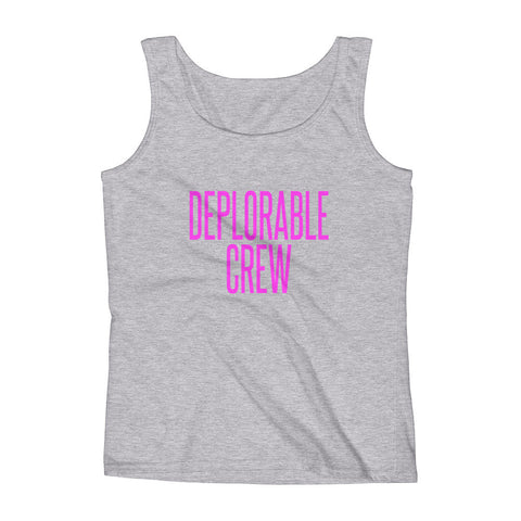 Deplorable Crew Ladies' Tank - Miss Deplorable
