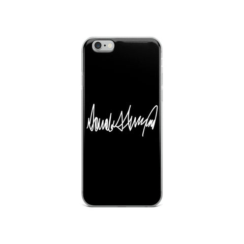 Donald Trumps Autograph iPhone 5/5s/Se, 6/6s, 6/6s Plus Case - Miss Deplorable