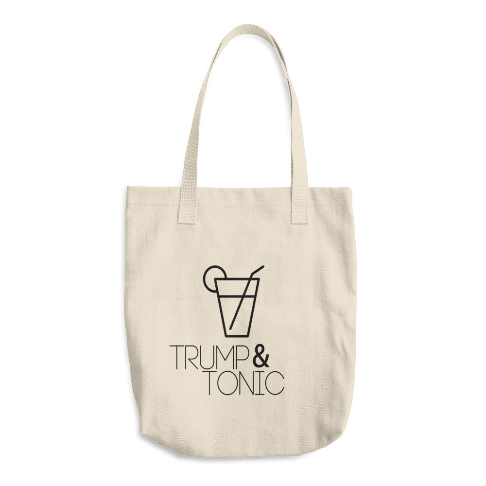 Trump & Tonic Donald Trump Cotton Tote Bag - Miss Deplorable