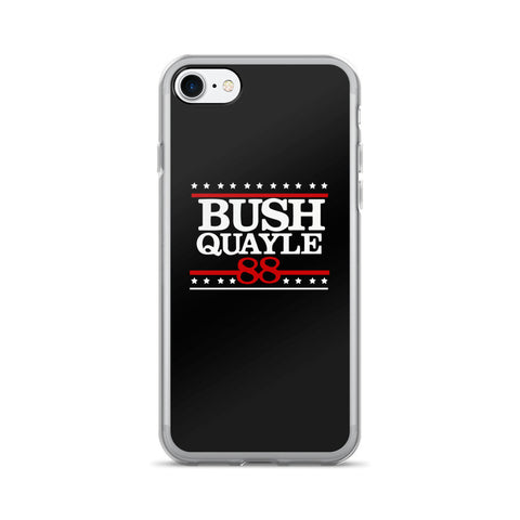 President George H W Bush Senior Campaign iPhone 7/7 Plus Case - Miss Deplorable