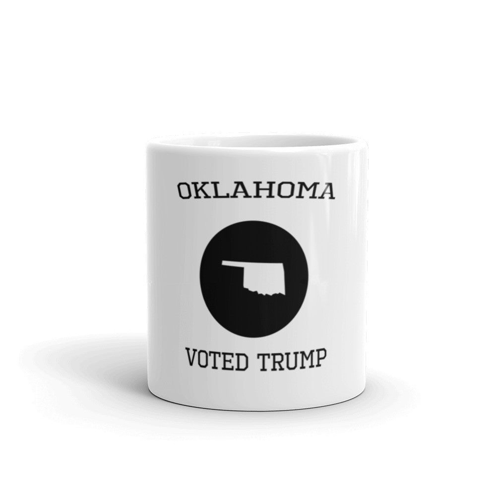 Oklahoma Voted Trump Mug - Miss Deplorable