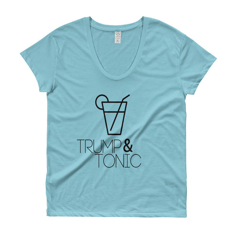Trump & Tonic Ladies' Donald Trump Roadtrip Tee - Miss Deplorable