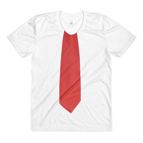 Donald Trump Red Tie Women's sublimation t-shirt