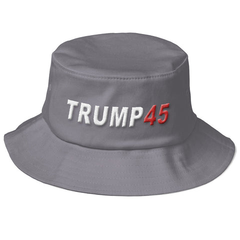 "Donald Trump ""Trump 45"" Bucket Hat - Miss Deplorable"