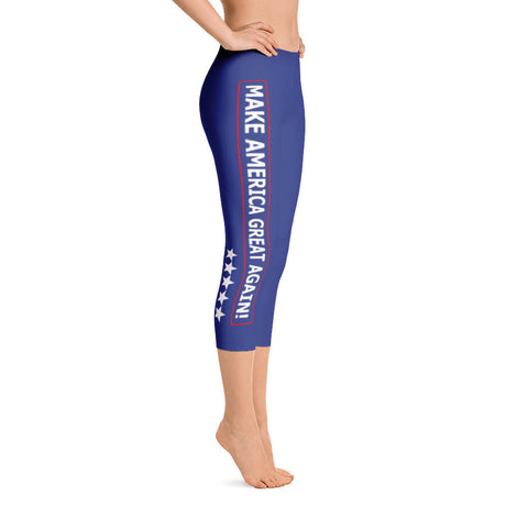 MAGA Capri Leggings for $47.00 at Miss Deplorable