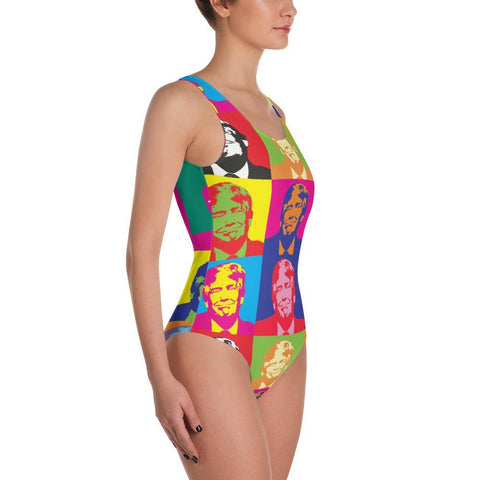 Donald Trump Andy Warhol Pop Art Swimsuit for $55.00 at Miss Deplorable