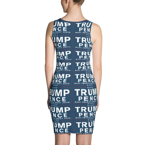 Trump Pence Make America Great Again Dress Blue for $64.95 at Miss Deplorable
