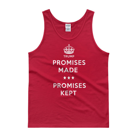 Donald Trump Tank top | Promises Made Campaign Mens Tank - Miss Deplorable