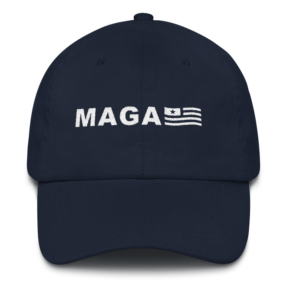 Make America Great Again MAGA USA Flag Classic Dad Cap - Miss Deplorable