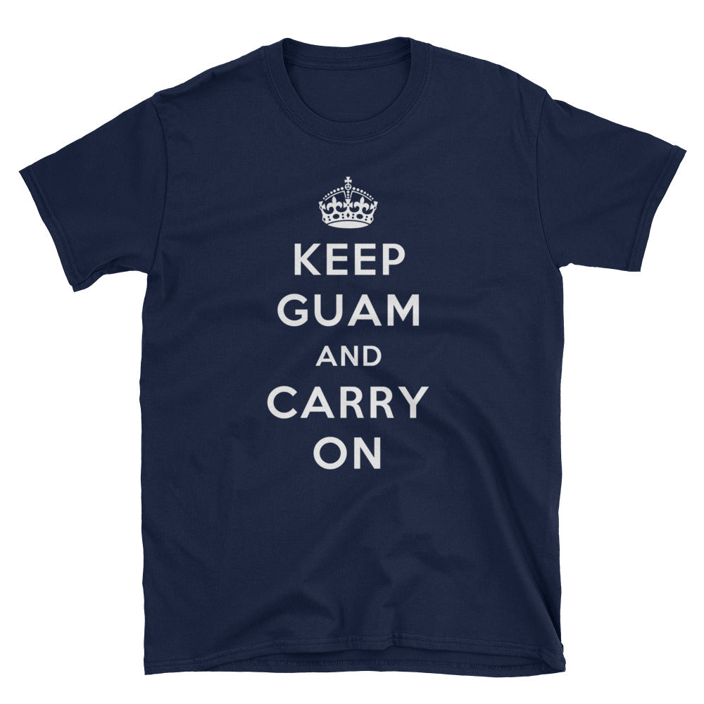 Donald Trump Keep Guam And Carry On Womens T Shirt