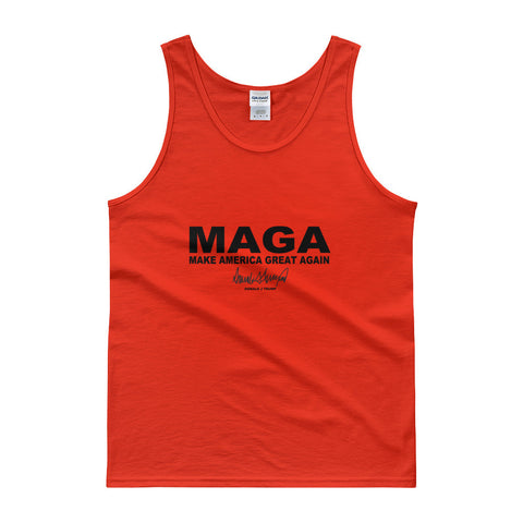 "Make America Great Again ""MAGA"" Mens Tank Top for $25.00 at Miss Deplorable"
