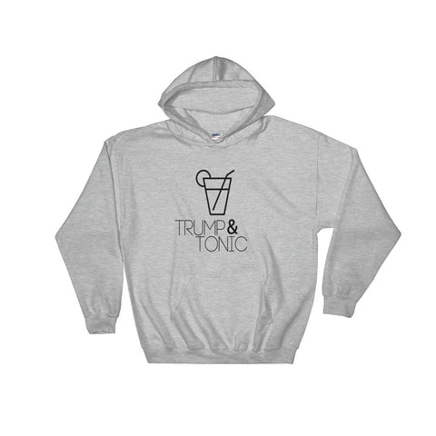 Trump & Tonic Donald Trump Unisex Hooded Sweatshirt for $39.00 at Miss Deplorable