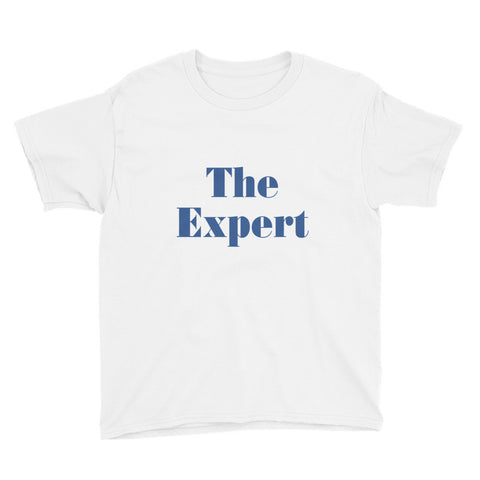 The Expert Barron Trump Youth Short Sleeve T-Shirt