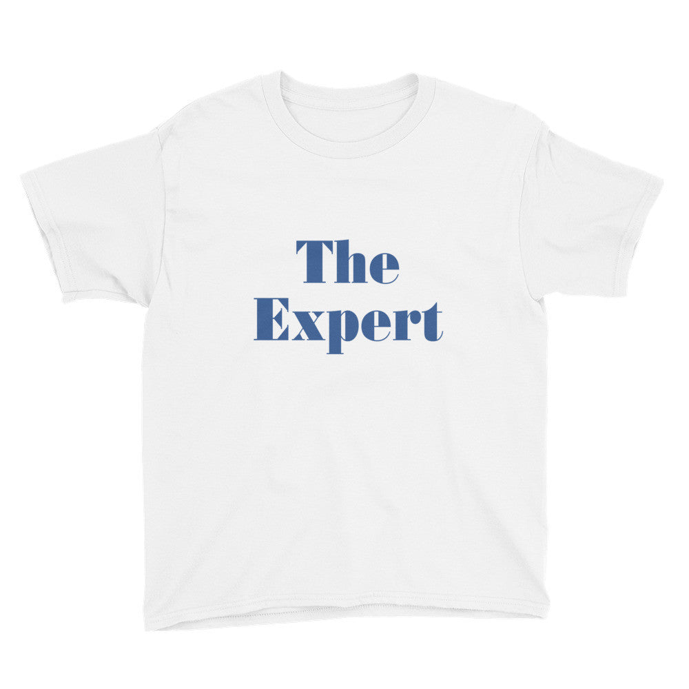 The Expert Barron Trump Youth Short Sleeve T-Shirt - Miss Deplorable