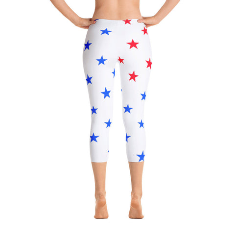 Make America Great Again Capri Leggings - Miss Deplorable