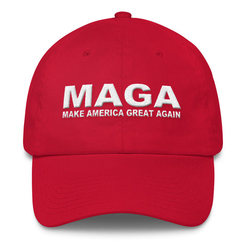 Womens Make America Great Again MAGA Cotton Cap for $35.00 at Miss Deplorable