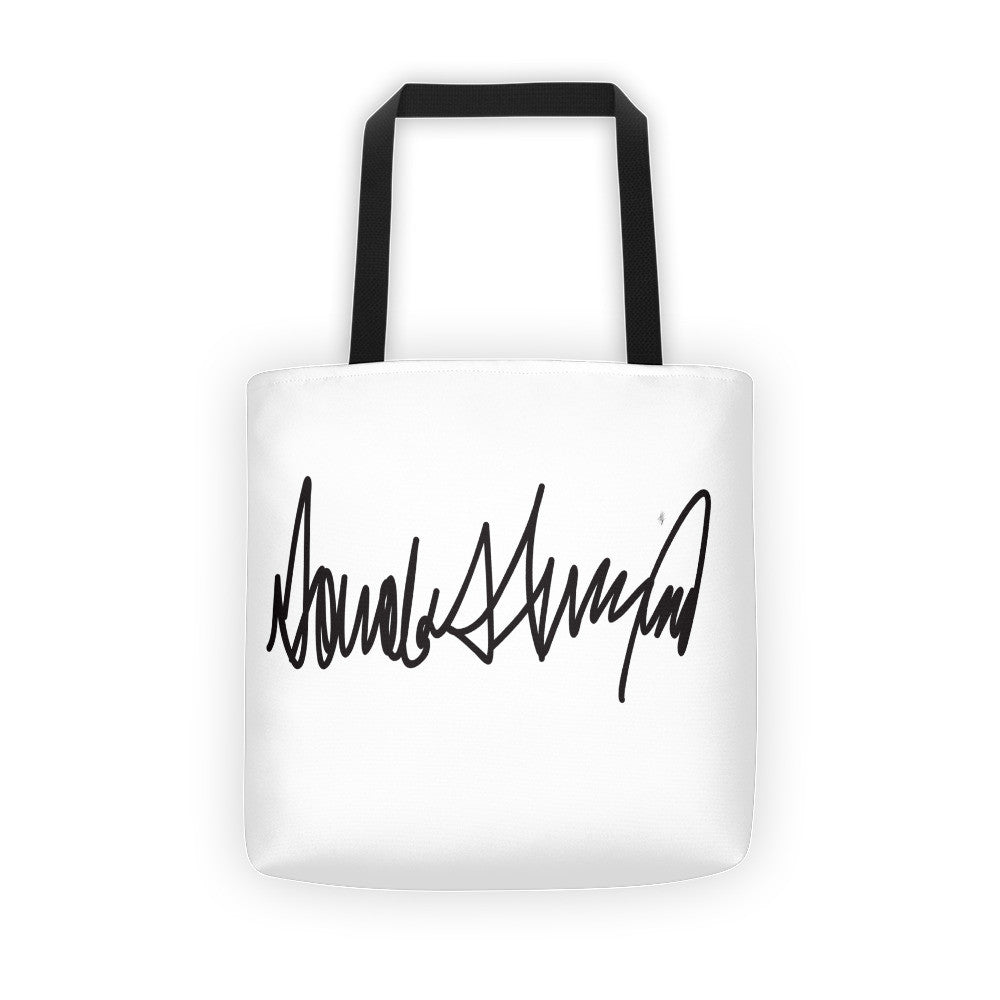 Donald Trumps Autograph Tote bag - Miss Deplorable