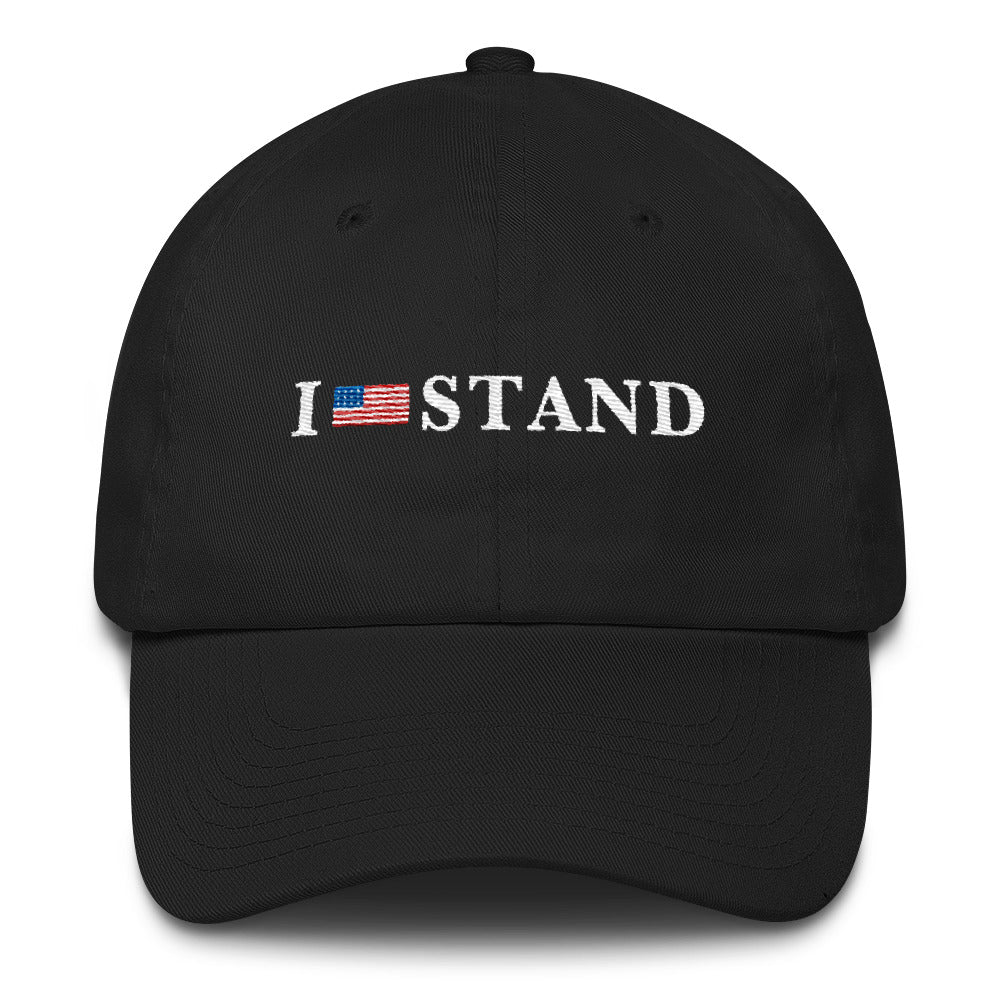 I Stand For The Anthem Cotton Cap for $35.00 at Miss Deplorable