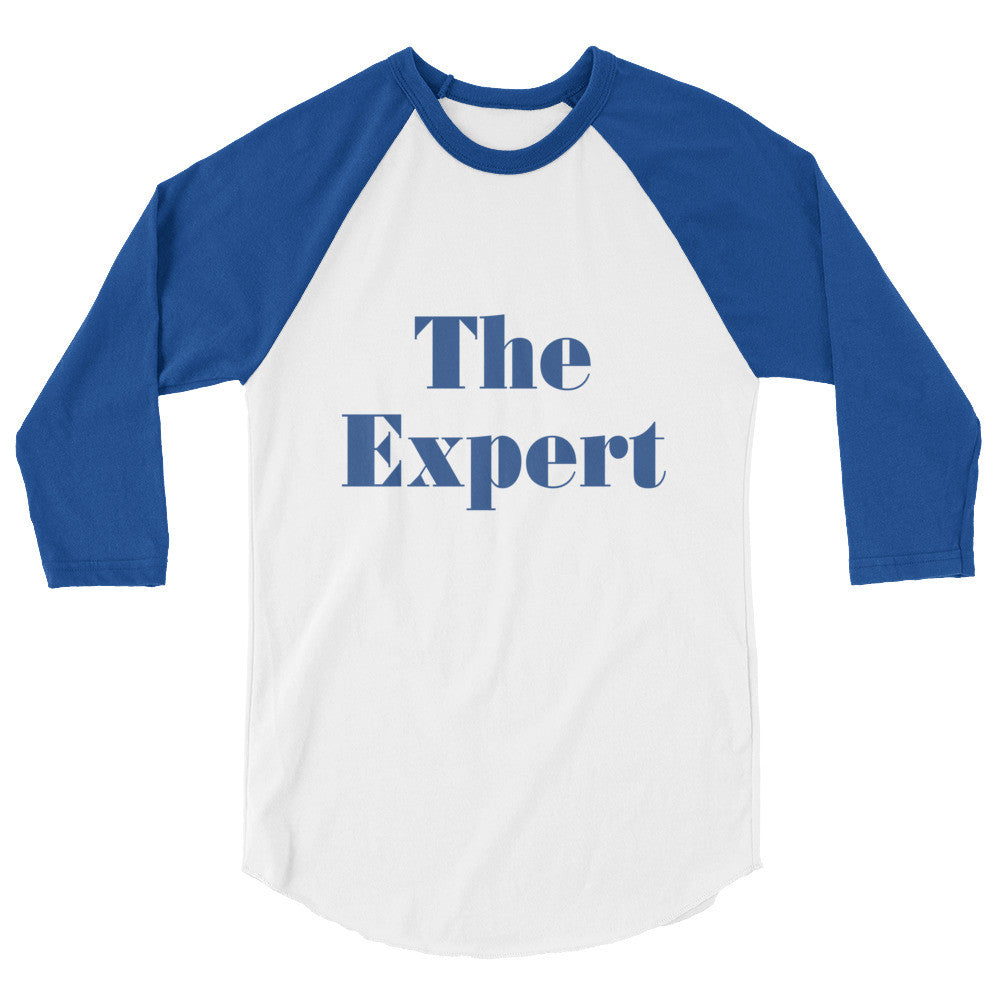 The Expert Barron Trump Mens Raglan Shirt - Miss Deplorable