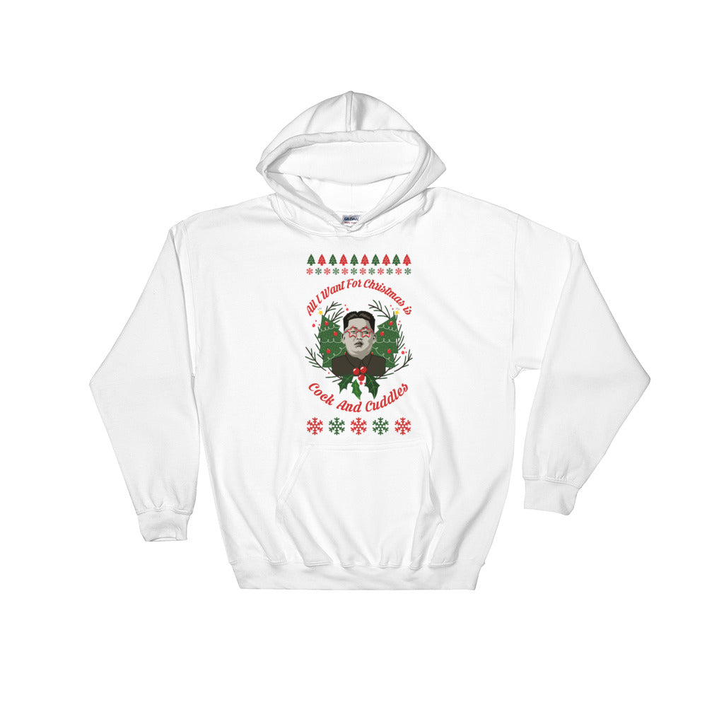 Funny Trump Kim Jung Un Christmas Hoodie - Miss Deplorable