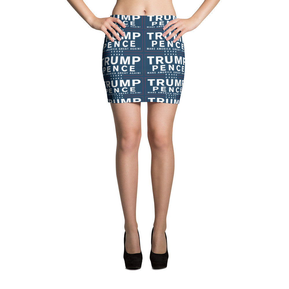 Trump Pence Make America Great Again Mini Skirt