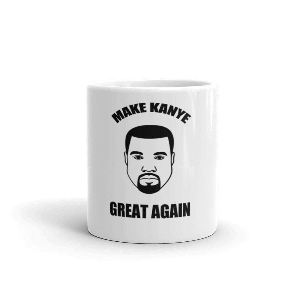 Make Kanye Great Again Kanye West Mug - Miss Deplorable