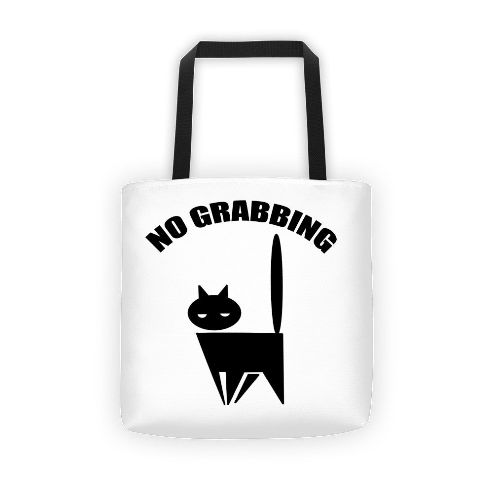 No Grabbing Pussy Cat Tote bag - Miss Deplorable