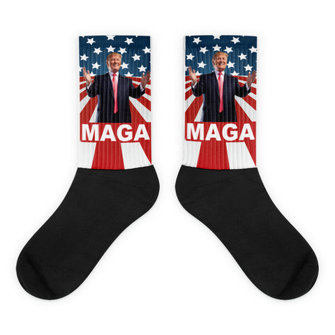 "Make America Great Again Donald Trump ""MAGA"" Socks - Miss Deplorable"