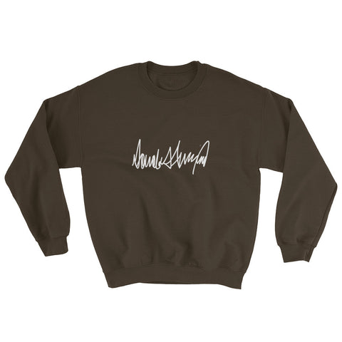 Donald Trumps Autograph Sweatshirt | Mens | Various Colors for $0.34 at Miss Deplorable