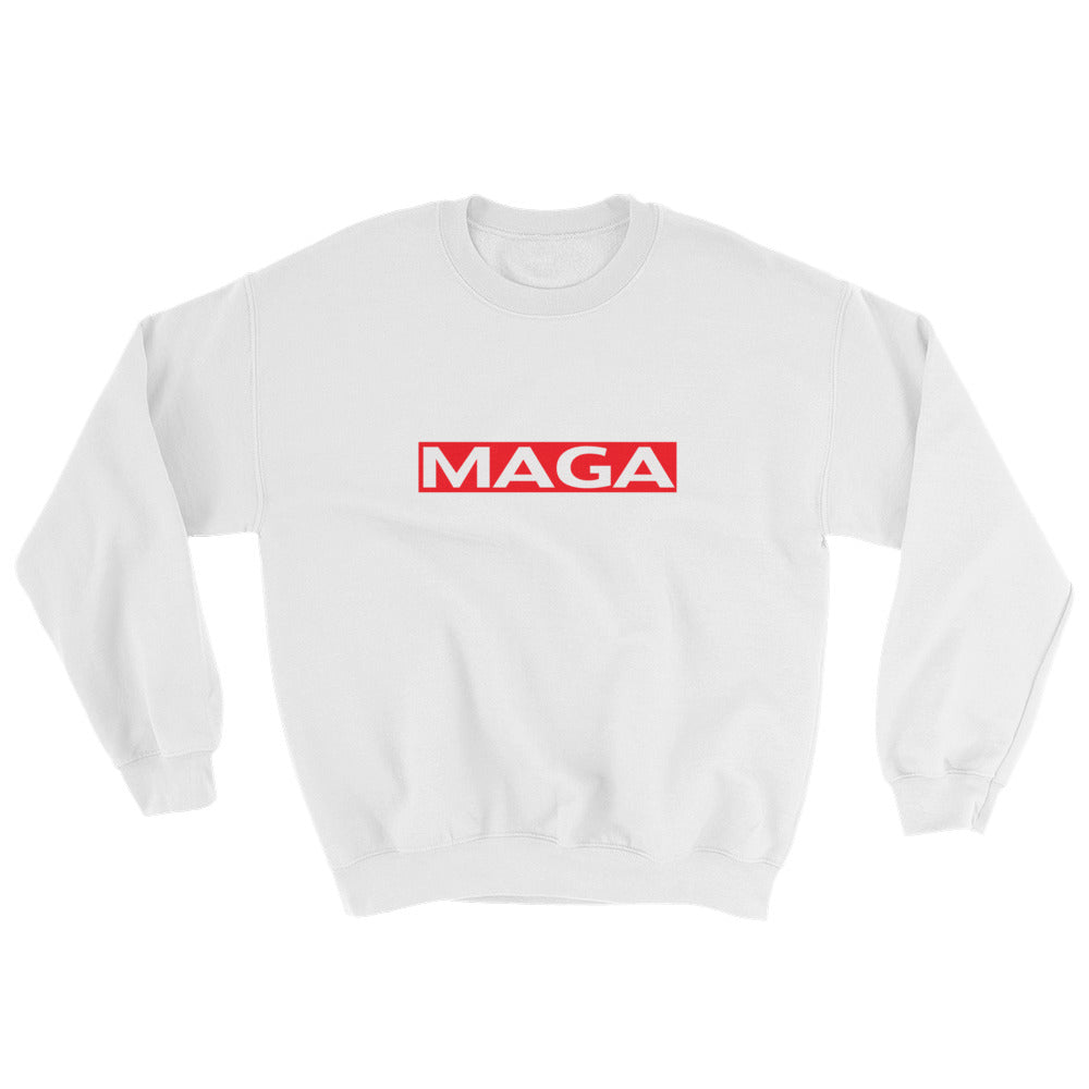 Donald Trump Make America Great Again MAGA Shield Sweatshirt - Miss Deplorable