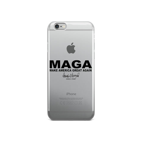 "Make America Great Again ""MAGA"" Donald Trump iPhone 5/5s/Se, 6/6s, 6/6s Plus Case - Miss Deplorable"