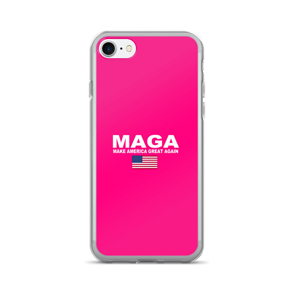 Pink Make America Great Again Donald Trump iPhone 7 / 7 Plus Case - Miss Deplorable