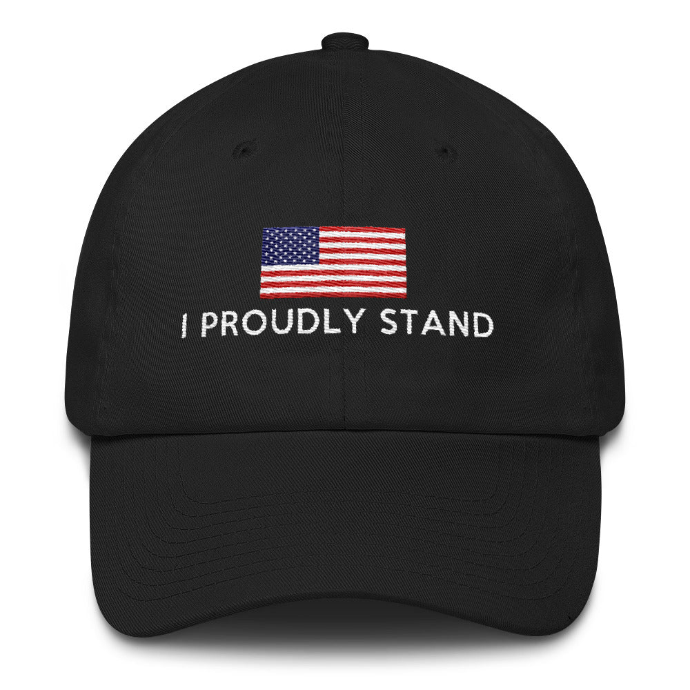 I Proudly Stand Cotton Cap - Miss Deplorable