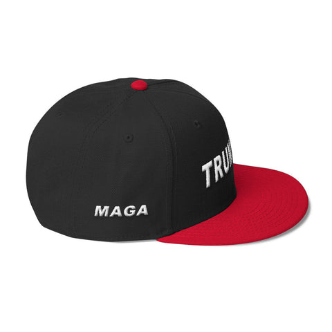 Trump 45 MAGA Hat Red White - Miss Deplorable