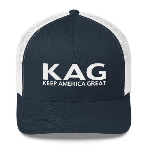 "Donald Trump Keep America Great ""KAG"" Trucker Hat - Miss Deplorable"