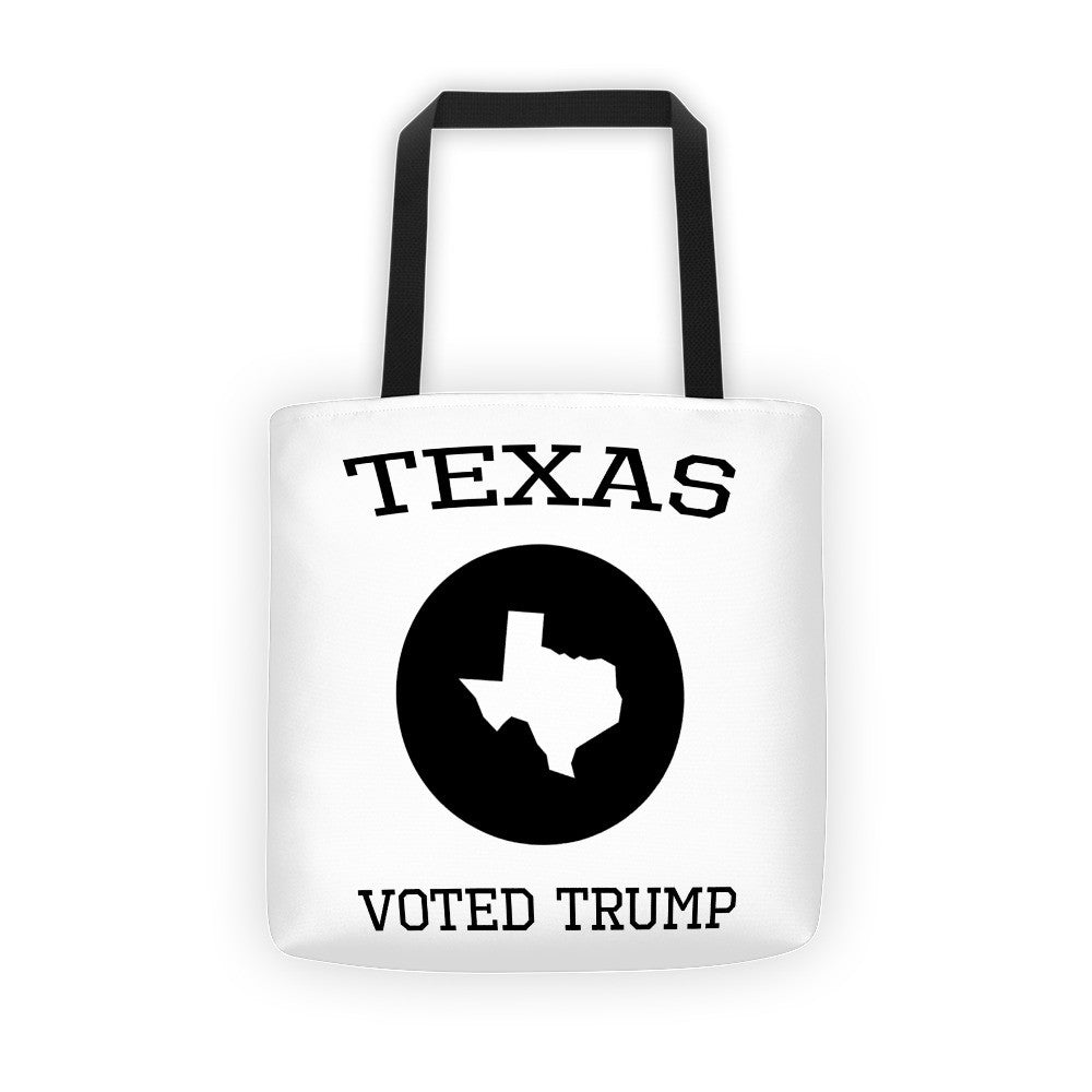 Texas Voted Donald Trump Tote bag - Miss Deplorable