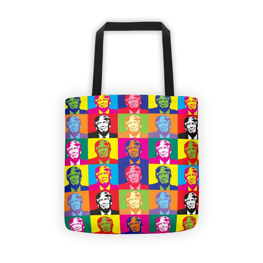 Andy Warhol Style Donald Trump Tote bag - Miss Deplorable