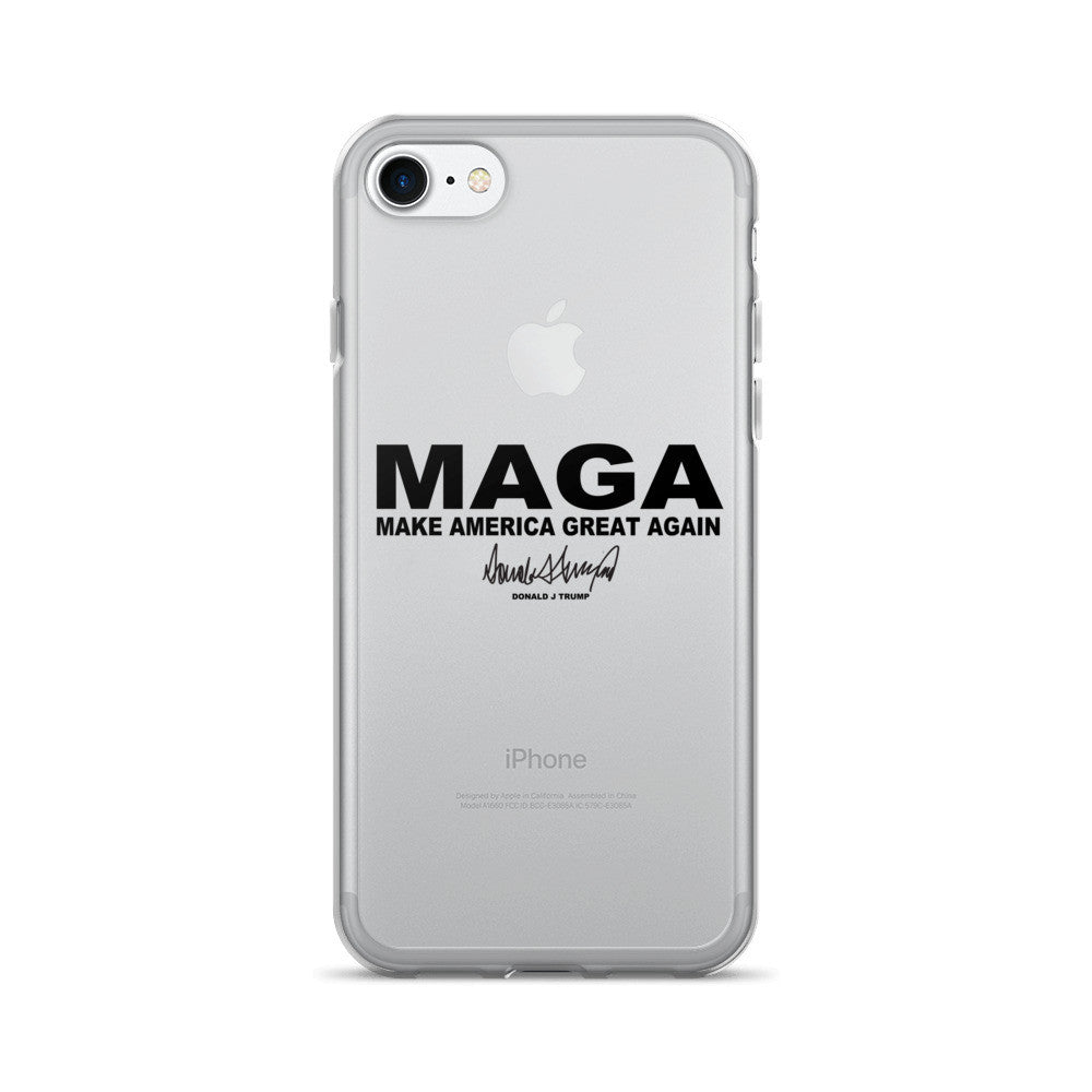 "Make America Great Again ""MAGA"" iPhone 7/7 Plus Case - Miss Deplorable"