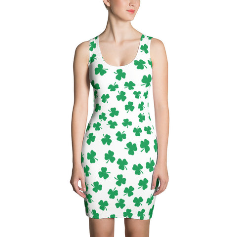 Irish Four Leaf Clover St Patricks Day Dress - Miss Deplorable
