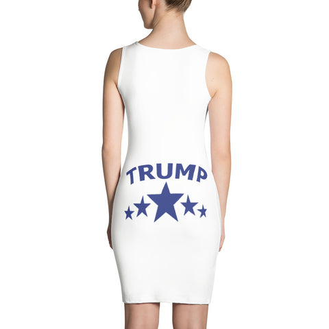 Make America Great Again White Dress - Miss Deplorable